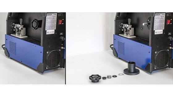 Деталировка осей полуавтоматов AuroraPRO